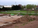 30. April 2004 - Zwischenstand Sportplatzbau